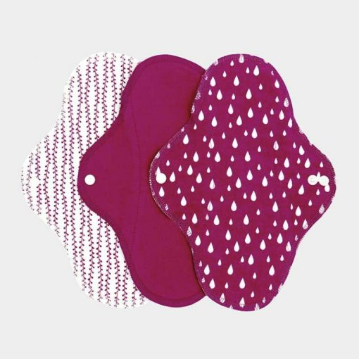 Imse Vimse dagbindor Sangria tygbindor i rosa