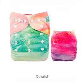 AlvaBaby Colorful Cloth diaper