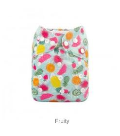 AlvaBaby Fruity, pocketblöja med frukter
