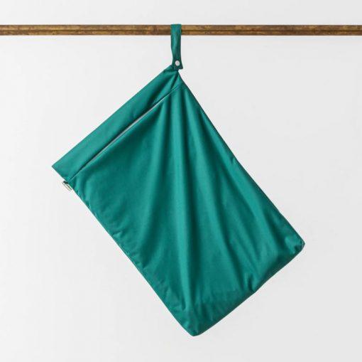 Little Lamb Hanging wet bag grön PUL-påse