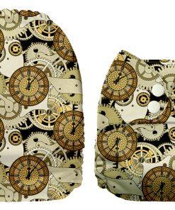 Mama Koala pocketblöjor klockor, peter pan, retro