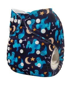 AlvaBaby Diapers Ghost, pocketblöja med spöken