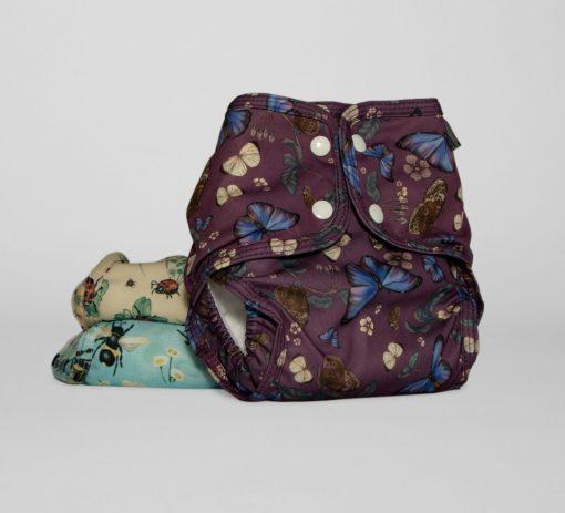 Garde Song Collection, Little Lamb Nappies tygblöjor med Fjärilar, humlor och nyckelpigor