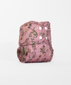 Little lamb pocketblöja harar rosa