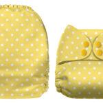 Yellow Dots (klargul, ej ljusgul)
